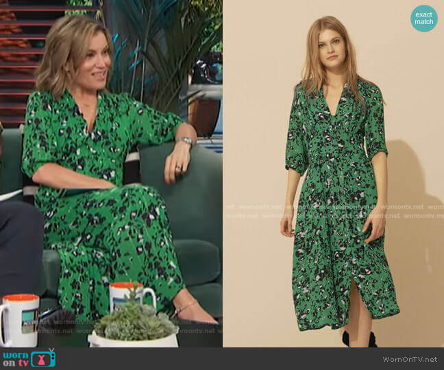 Elfe Dress by Ba&Sh worn by Kit Hoover  on Access Hollywood