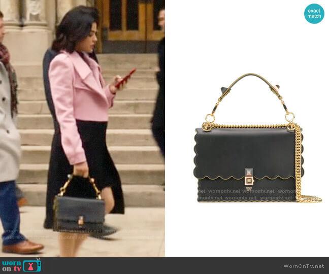 Fendi Kan Shoulder Bag worn by Katy Keene (Lucy Hale) on Katy Keene