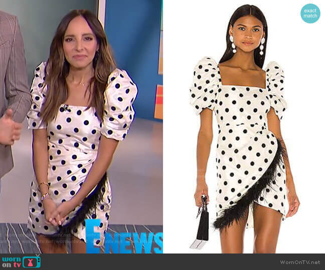Hailey Dress by LPA worn by Lilliana Vazquez  on E! News