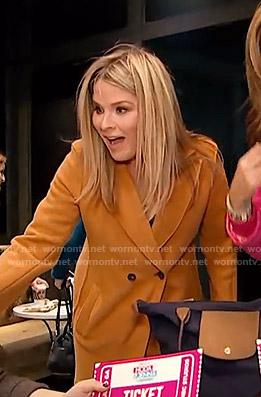 Jenna's camel coat on Today
