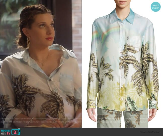 Future Ex-Boyfriend Shirt by Le Superbe worn by Nomi Segal (Emily Arlook) on Grown-ish