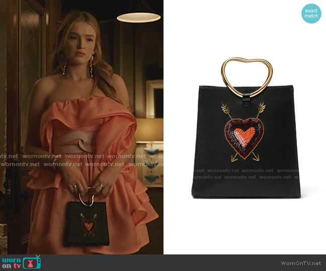 Pronto Purse by Lizzie Fortunato worn by Kirby Anders (Maddison Brown) on Dynasty