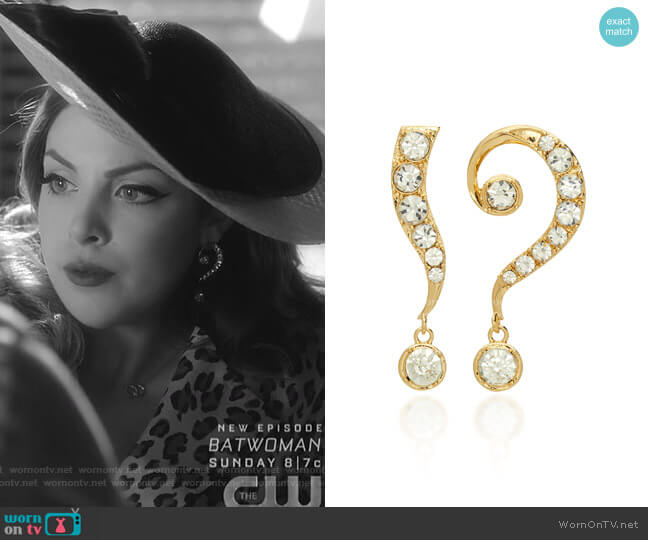 Kismet Drop Earrings by Lulu Frost worn by Fallon Carrington (Elizabeth Gillies) on Dynasty