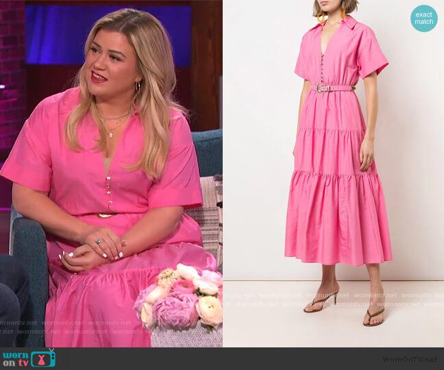 Amina Dress by Nicholas worn by Kelly Clarkson  on The Kelly Clarkson Show