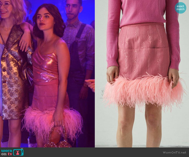 Rachel Comey Decorum Skirt worn by Katy Keene (Lucy Hale) on Katy Keene
