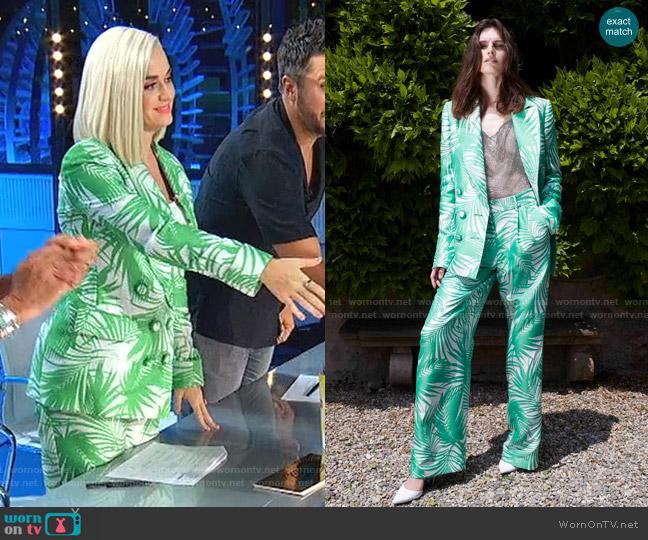 Resort 2020 Collection by Sara Battaglia  worn by Katy Perry  on American Idol