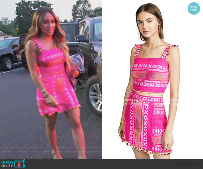 Claire Set by Saylor worn by Melissa Gorga  on The Real Housewives of New Jersey