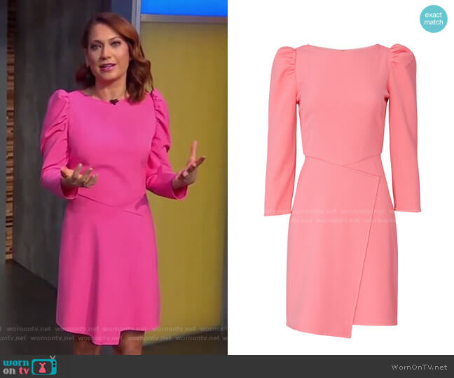 Upton Dress by Shoshanna worn by Ginger Zee  on Good Morning America