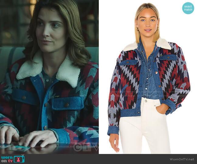 Trucker Jacket by Wrangler worn by Dex Parios (Cobie Smulders) on Stumptown