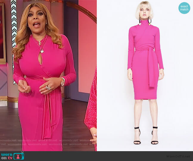 Joi Dress by Undra Celeste worn by Wendy Williams  on The Wendy Williams Show