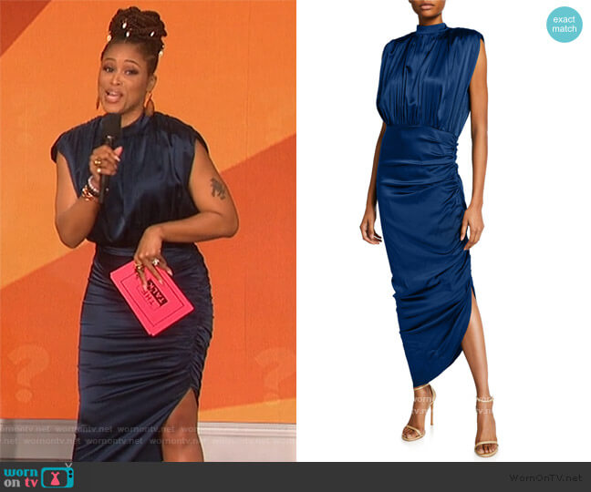 Kendall Dress by Veronica Beard worn by Eve  on The Talk