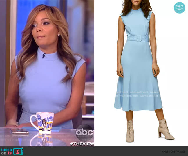 Penny Belted Dress by Whistles worn by Sunny Hostin  on The View