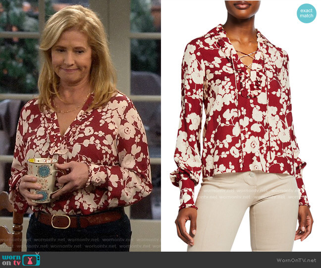 Alexis Daina Top worn by Vanessa Baxter (Nancy Travis) on Last Man Standing