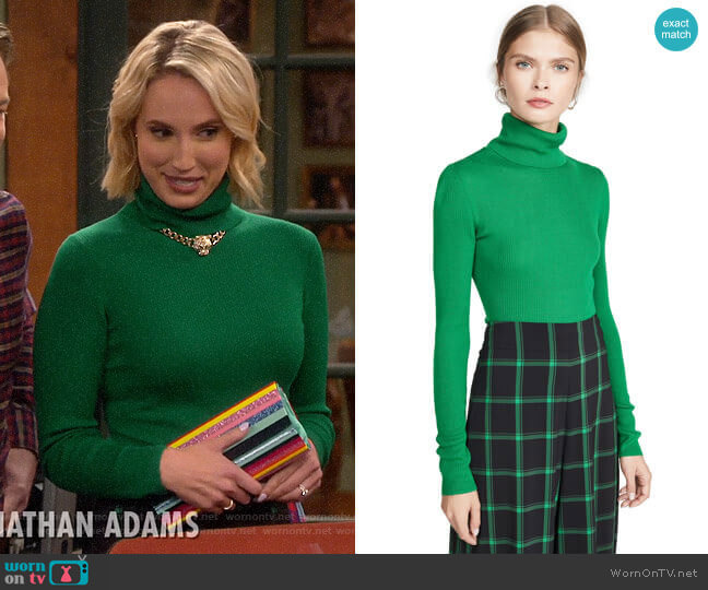 Alice + Olivia Roberta Sweater worn by Mandy Baxter (Molly McCook) on Last Man Standing