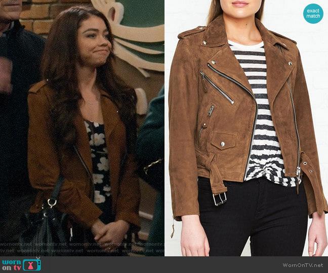 All Saints Sarana Jacket worn by Haley Dunphy (Sarah Hyland) on Modern Family