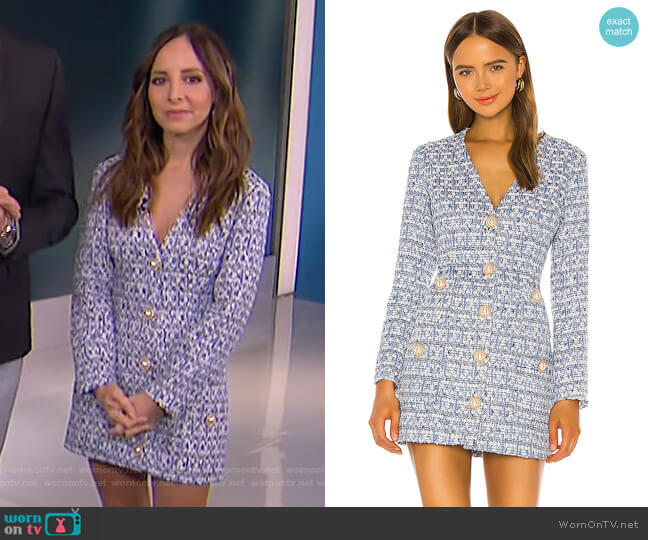 Need Your Love Dress by Atoir worn by Lilliana Vazquez  on E! News
