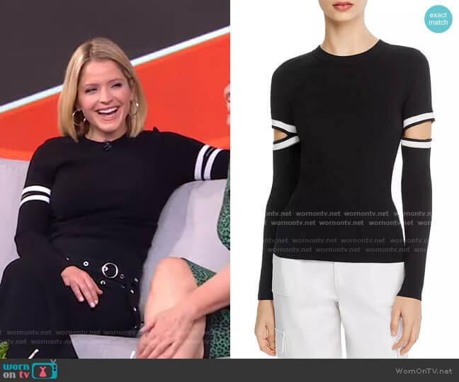 Jazi Sweater by Alice + Olivia worn by Sara Haines  on Good Morning America