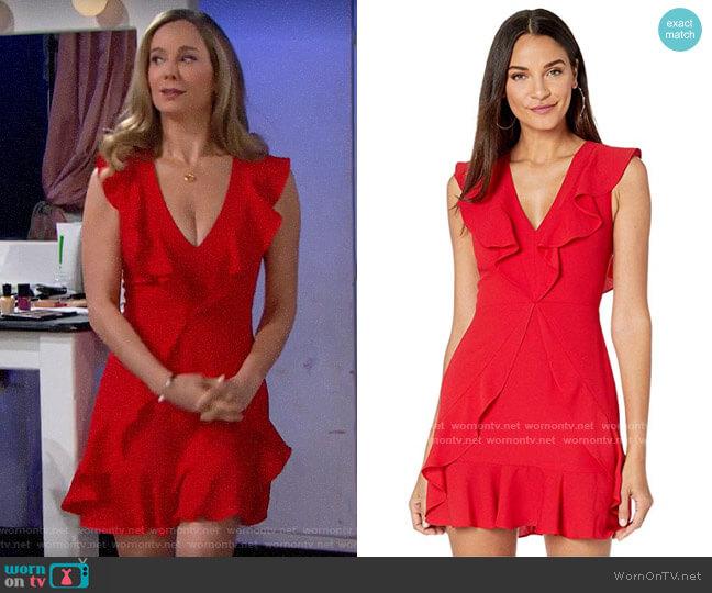Bcbgmaxazria Tyrah Dress worn by Donna Logan (Jennifer Gareis) on The Bold & the Beautiful