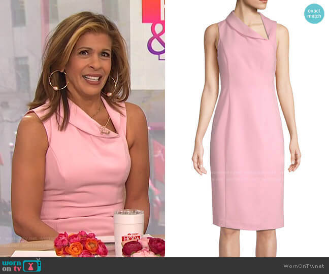 Blaze Dress by Black Halo worn by Hoda Kotb  on Today