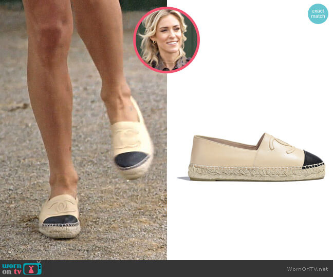 Chanel Lambskin Espadrilles worn by Kristin Cavallari  on Very Cavallari
