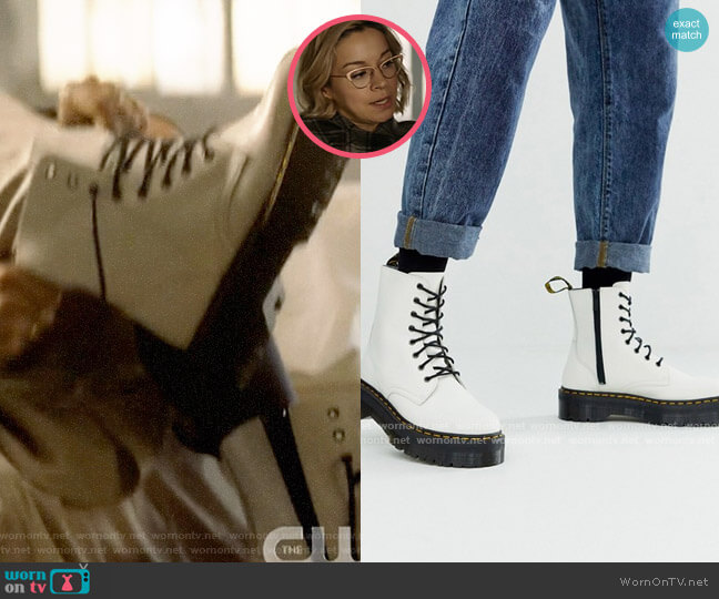 Dr Martens Jadon Boots worn by Pepper Smith (Julia Chan) on Katy Keene