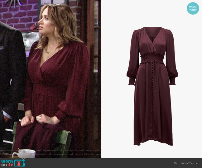 Ever New Evie Dress worn by Summer Newman (Hunter King) on The Young & the Restless
