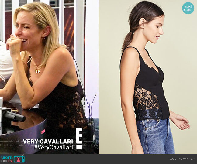 Fame and Partners Mila Top worn by Kristin Cavallari  on Very Cavallari