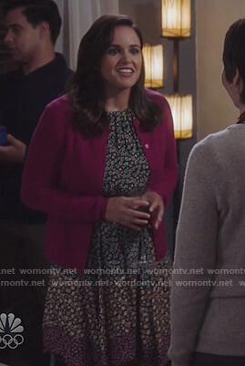 Captain Kim's tweed dress and jacket on Brooklyn Nine-Nine