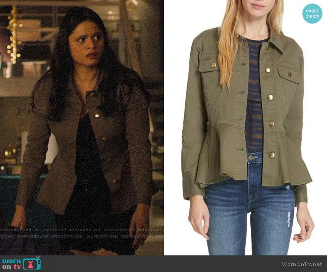 Frame Flounce Hem Jacket worn by Mel Vera (Melonie Diaz) on Charmed