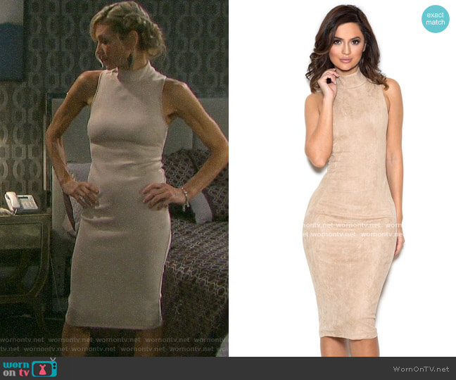House of CB Sergia Dress worn by Kristen DiMera (Stacy Haiduk) on Days of our Lives