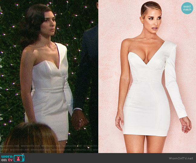 House of CB Tiffany Dress worn by Gabi Hernandez (Camila Banus) on Days of our Lives