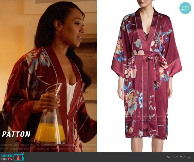 In Bloom Love Is a Battlefield worn by Iris West (Candice Patton) on The Flash