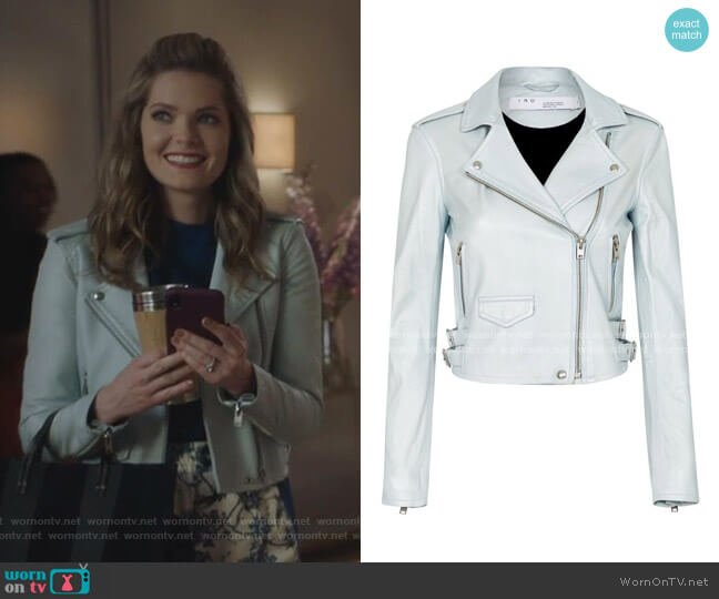 Ashville Jacket by Iro worn by Sutton (Meghann Fahy) on The Bold Type