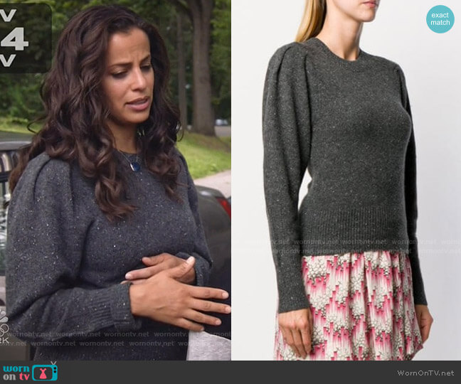 Colroy Cashmere Jumper by Isabel Marant worn by Grace Stone (Athena Karkanis) on Manifest