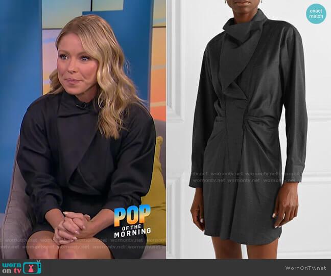 Valentin Dress by Isabel Marant Etoile worn by Kelly Ripa on E! News
