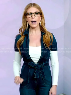 Jill's denim jumpsuit on Today