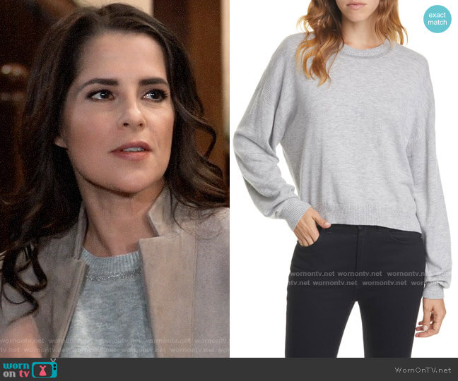 Joie Jaren Sweater worn by Sam McCall (Kelly Monaco) on General Hospital
