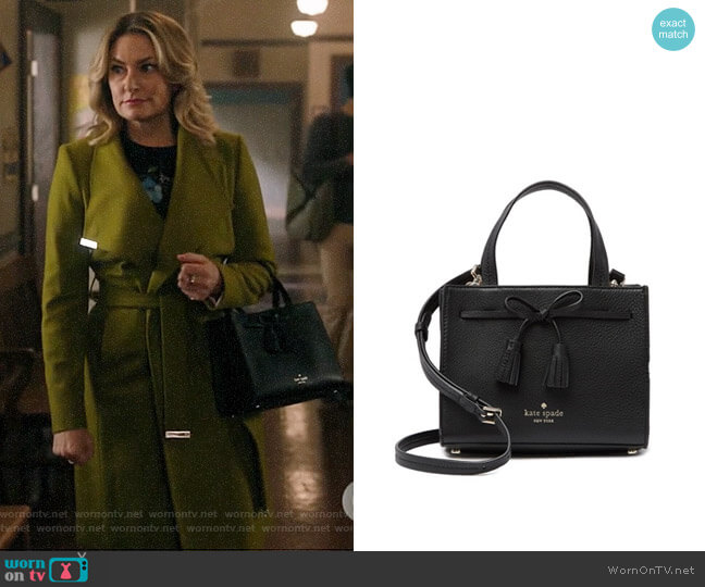 Kate Spade Hayes Street Small Isoabel worn by Alice Cooper (Mädchen Amick) on Riverdale