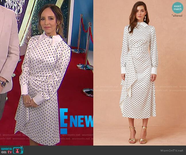 Foolish Long Sleeve Dress by Keepsake worn by Lilliana Vazquez  on E! News