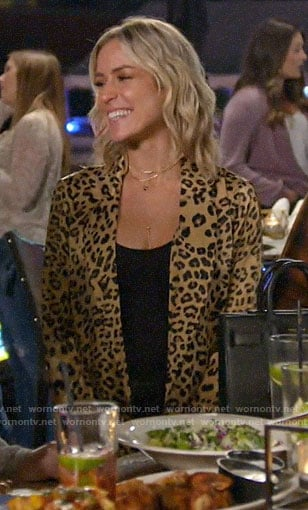 Kristin's leopard print jacket on Very Cavallari