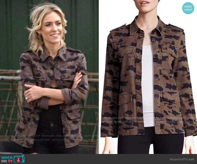 L'Agence Cromwell Camo Jacket worn by Kristin Cavallari  on Very Cavallari