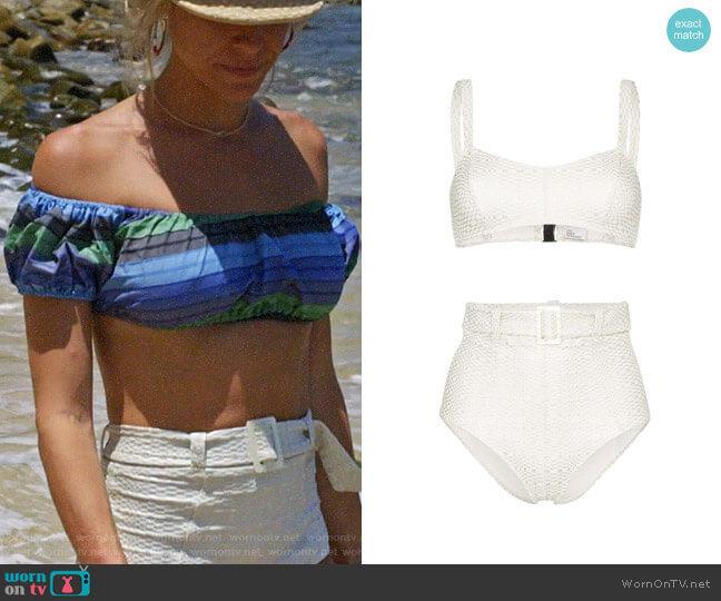 Lisa Marie Fernandez Genevieve Bikini worn by Kristin Cavallari  on Very Cavallari