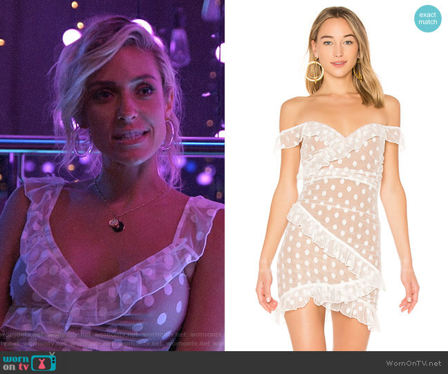 Majorelle Bandit Dress worn by Kristin Cavallari  on Very Cavallari