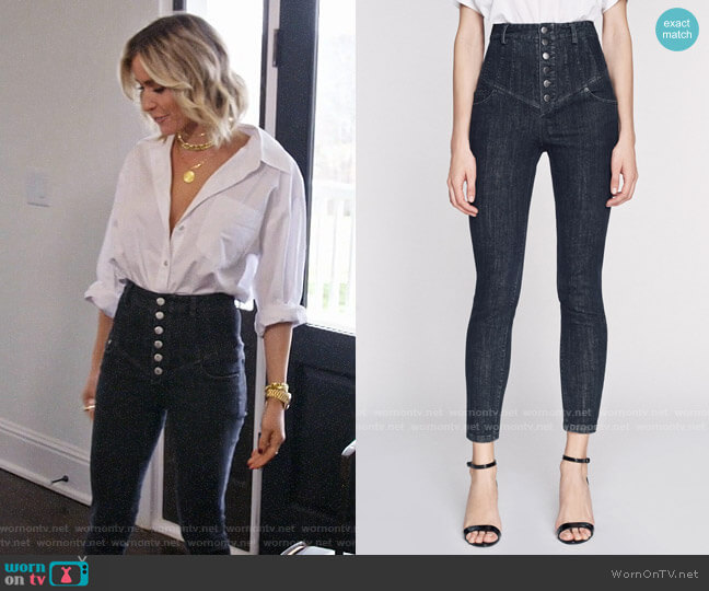 Marissa Webb Hartly Jeans worn by Kristin Cavallari  on Very Cavallari