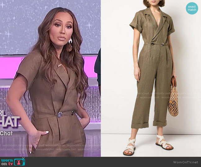 Rumi Jumpsuit by Nicholas worn by Adrienne Houghton  on The Real