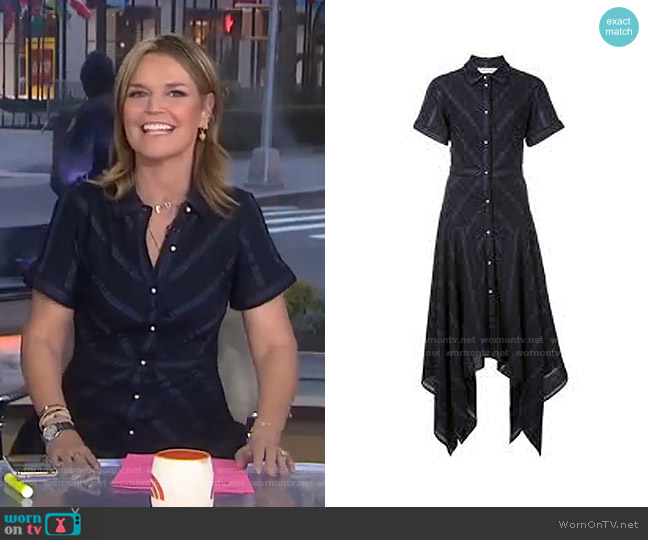 Resort Collection 2017 by Prabal Gurung worn by Savannah Guthrie  on Today