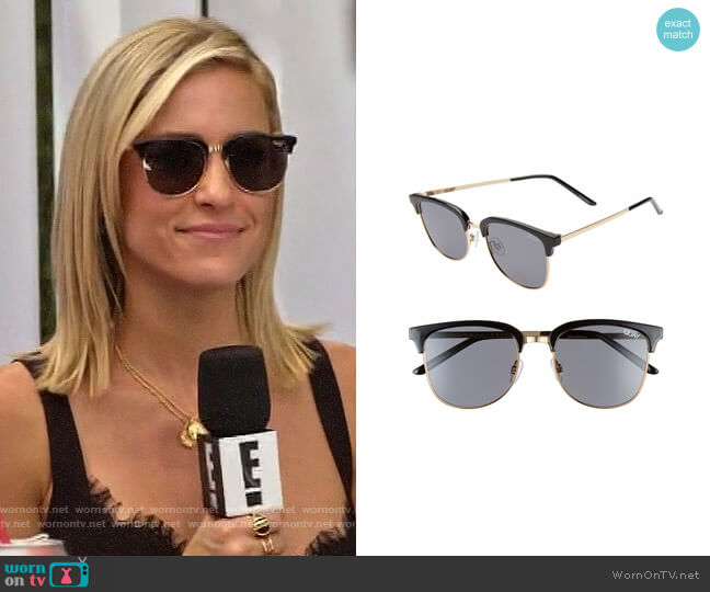 Quay Australia Evasive Sunglasses worn by Kristin Cavallari  on Very Cavallari