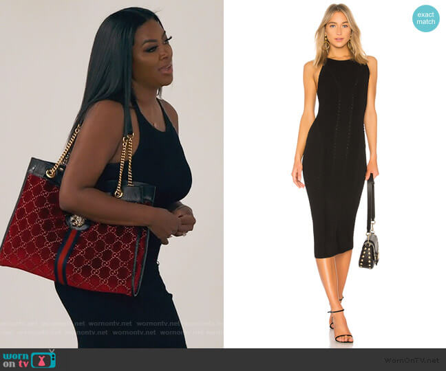 Brandy Midi Dress by Rag and Bone worn by Kenya Moore  on The Real Housewives of Atlanta