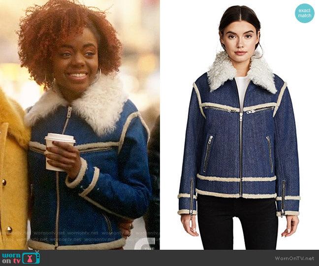 Rag & Bone Andrew Jacket worn by Josie McCoy (Ashleigh Murray) on Katy Keene