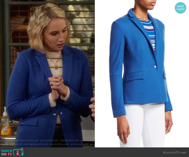 Rag & Bone Lexington Blazer worn by Mandy Baxter (Molly McCook) on Last Man Standing